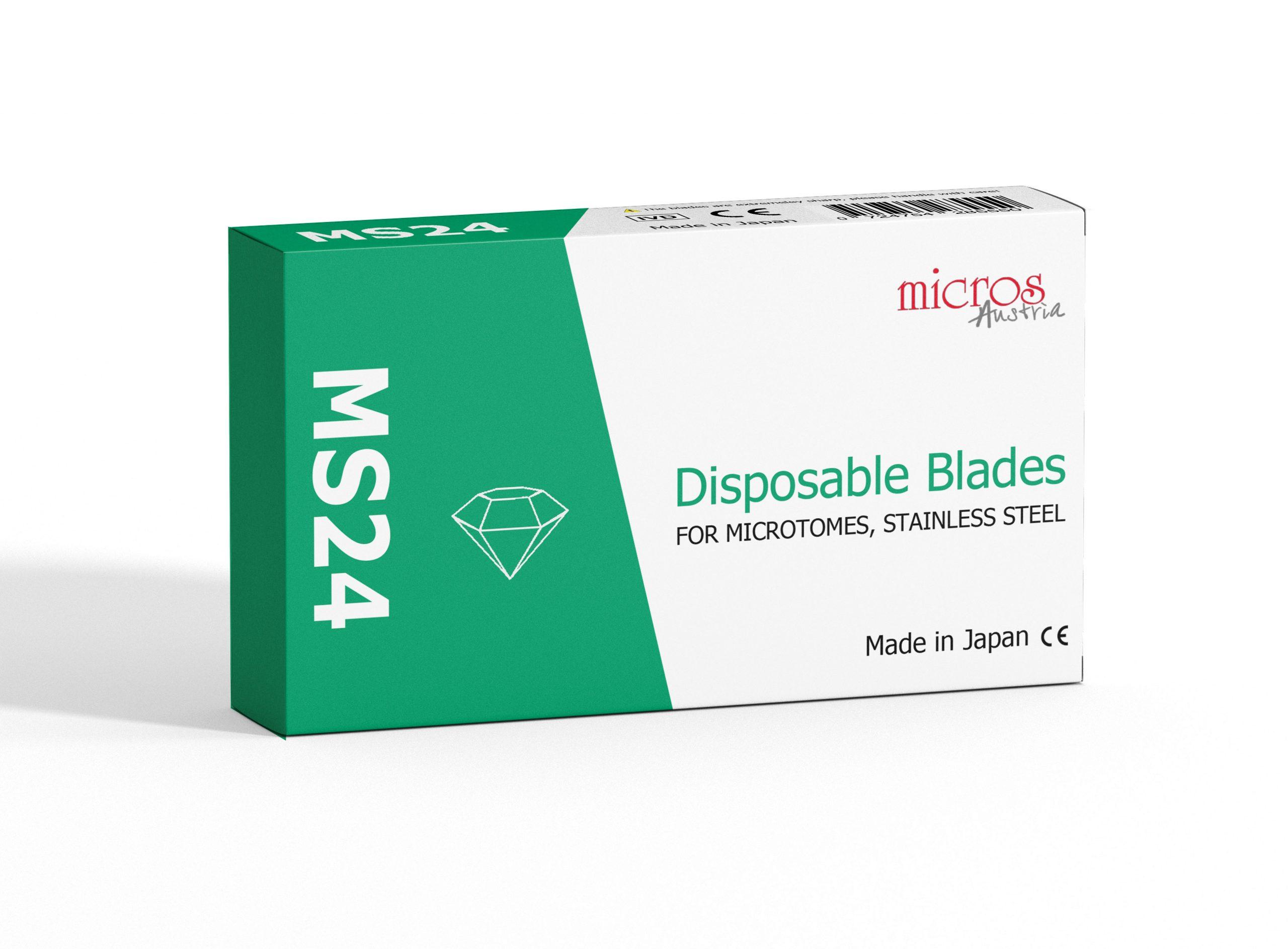 MS24 Mikrotomklinge
